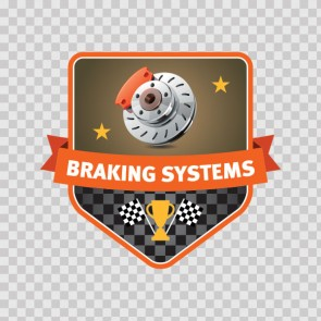 Braking Systems Sign 08086