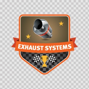 Exhaust Systems Sign 08090