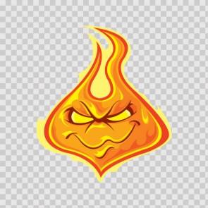 Bad Evil Flame 08135