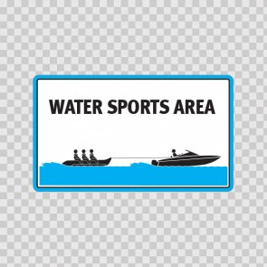 Water Sports Area Sign 08169