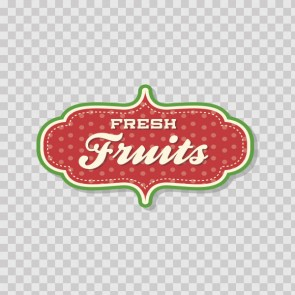 Store Decoration Grocery Shop Fresh Fruits 08465