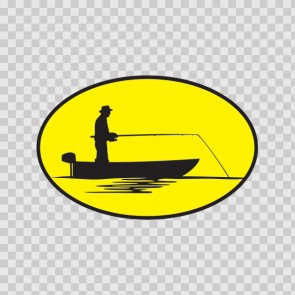 Oval Yellow Fisherman 08509