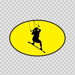 Kite Surfer In Action 08515