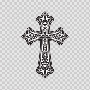 High Detailed Cross Design 08577