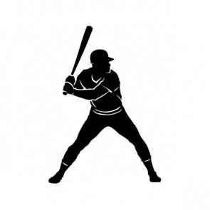 Baseball Player 08600
