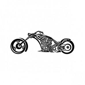 Super Tribal Chopper Motorbike 08616