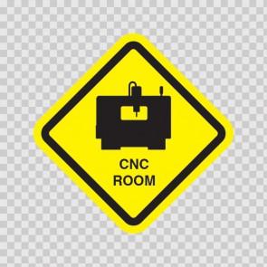 Cnc Room Sign 09033