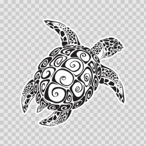 Sea Turtle Tribal 09159