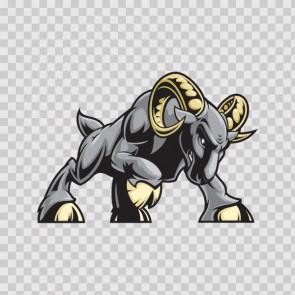 Gray Aggressive Ram 09161