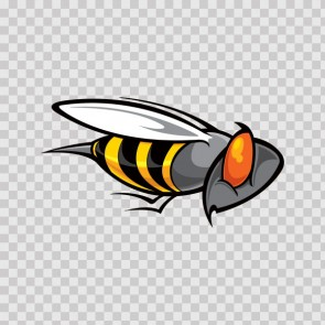 Bee Wasp Vespa Hornet 09288