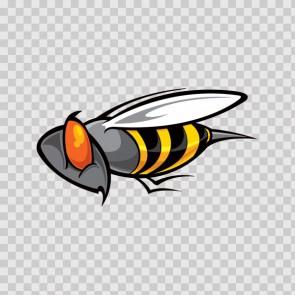 Bee Wasp Vespa Hornet 09289