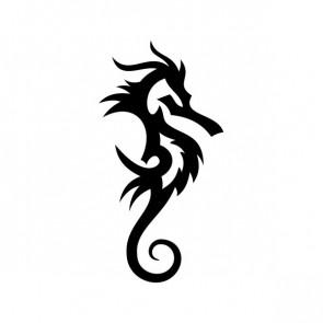 Seahorse Tribal 09443