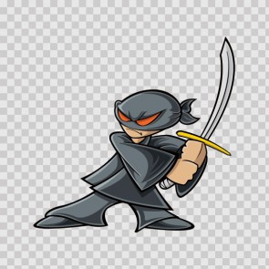 Cartoon Ninja Shinobi 09794
