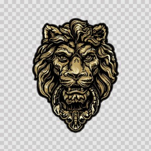 Male Lion Head 09929
