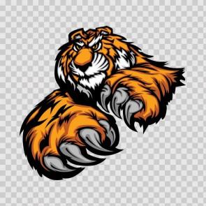 Tiger Attack 09930