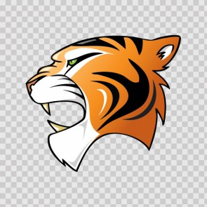 Tiger Head 09933