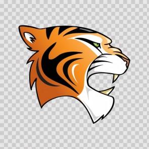 Tiger Head 09934