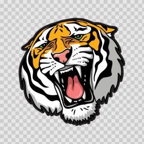Angry Tiger 09936