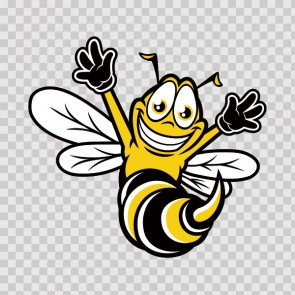 Happy Bee, Hornet, Wasp, Vespa 10008