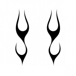 Pair Of Flames 10815