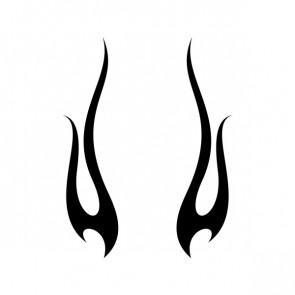 Pair Of Flames 10818