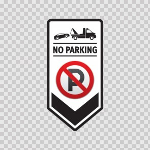 No Parking Sign 11249