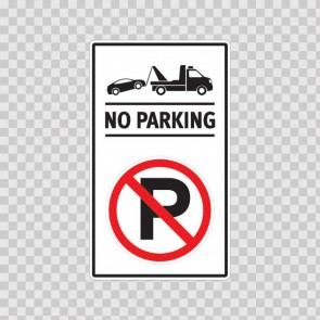 No Parking Sign 11250
