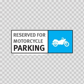 Reserved For Motorcycle Parking 11253