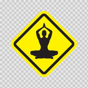 Yoga Pose Sign 11517