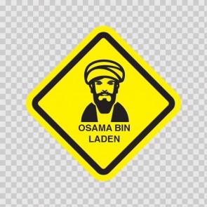 Osama Bin Laden Sign 11527