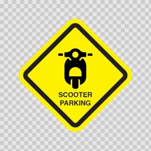 Scooter Parking Sign 11538