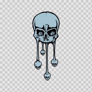 Melting Skull 11560
