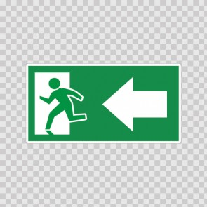 Emergency Exit Sign 11708