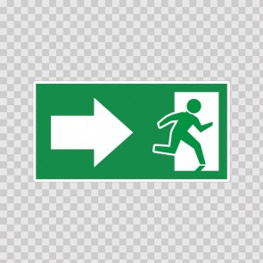 Emergency Exit Sign 11709