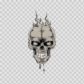 Melting Skull 11755