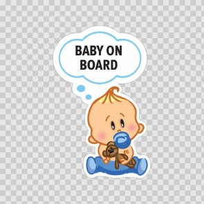 Baby On Board Sign 11874