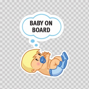 Baby On Board Sign 11875