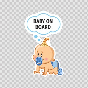 Baby On Board Sign 11876