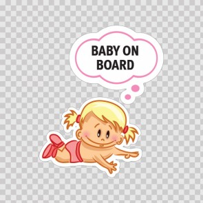 Baby On Board Sign 11878