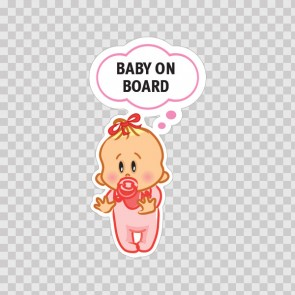 Baby On Board Sign 11879