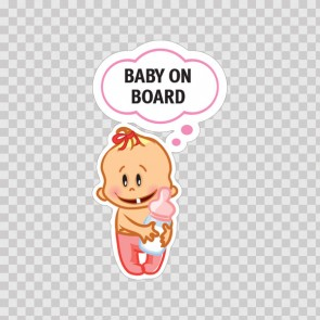 Baby On Board Sign 11880