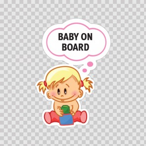 Baby On Board Sign 11881