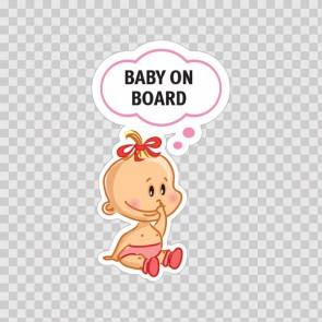 Baby On Board Sign 11883