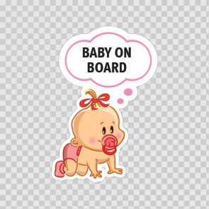 Baby On Board Sign 11884
