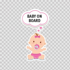 Baby On Board Sign 11886