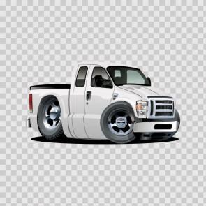 Muscle Pickup Car 11962