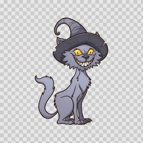 Happy  Halloween Cat 12088