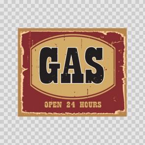 Gas Vintage Sign 12209