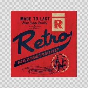 Retro Vintage Sign 12222