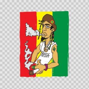Rasta Jamaica Cannabis Mood 12235